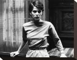 Nastassja Kinski - Cat People Stretched Canvas Print