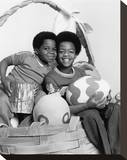 Diff'rent Strokes Stretched Canvas Print
