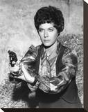 Linda Thorson - The Avengers Stretched Canvas Print
