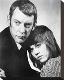 Klute Stretched Canvas Print