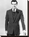 Patrick Macnee - The Avengers Stretched Canvas Print