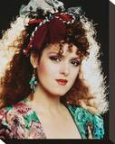 Bernadette Peters Stretched Canvas Print