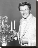 Liberace Stretched Canvas Print