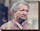 Redd Foxx - Sanford and Son Stretched Canvas Print