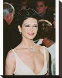 Catherine Zeta-Jones Stretched Canvas Print
