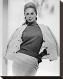 Tippi Hedren - Marnie Stretched Canvas Print