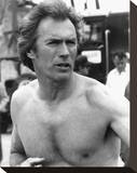 Clint Eastwood - Every Which Way But Loose Stretched Canvas Print
