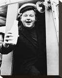 Benny Hill Stretched Canvas Print