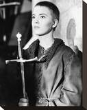 Jean Seberg Stretched Canvas Print