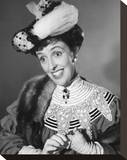Joyce Grenfell Stretched Canvas Print