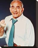 Edward Asner - Lou Grant Stretched Canvas Print