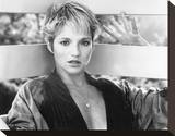 Ellen Barkin Stretched Canvas Print