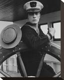 Buster Keaton Stretched Canvas Print