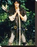 Michael Praed - Robin of Sherwood Stretched Canvas Print