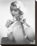 Constance Bennett Stretched Canvas Print