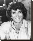 Michael Landon - Little House on the Prairie Stretched Canvas Print