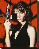 Bridget Fonda - Point of No Return Stretched Canvas Print