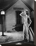 Constance Towers - Sergeant Rutledge Stretched Canvas Print