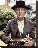 Joan Hickson Stretched Canvas Print