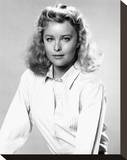 Faye Grant - V Stretched Canvas Print