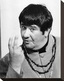 Buddy Hackett Stretched Canvas Print