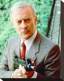 Edward Woodward - The Equalizer Stretched Canvas Print