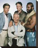 The A-Team Stretched Canvas Print