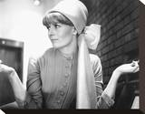 Vanessa Redgrave Stretched Canvas Print
