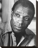 Moses Gunn Stretched Canvas Print