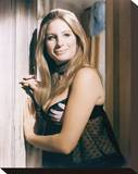 Barbra Streisand - For Pete's Sake Stretched Canvas Print