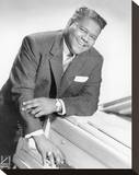 Fats Domino Stretched Canvas Print