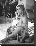 Sharon Tate - Valley of the Dolls Stretched Canvas Print