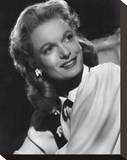 Anna Neagle Stretched Canvas Print