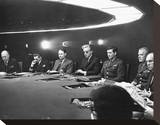 Dr. Strangelove or: How I Learned to Stop Worrying and Love the Bomb Stretched Canvas Print