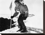Frankie Avalon - Ski Party Stretched Canvas Print