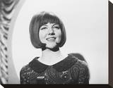Cilla Black Stretched Canvas Print