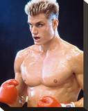 Dolph Lundgren - Rocky IV Stretched Canvas Print