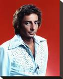 Barry Manilow Stretched Canvas Print