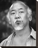 Pat Morita - The Karate Kid, Part II Stretched Canvas Print