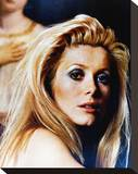 Catherine Deneuve - Belle de jour Stretched Canvas Print