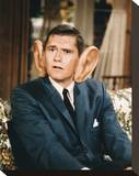 Dick York - Bewitched Stretched Canvas Print