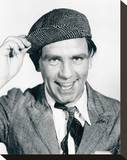Norman Wisdom Stretched Canvas Print