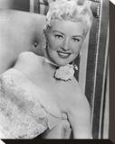 Betty Grable - How to Marry a Millionaire Stretched Canvas Print