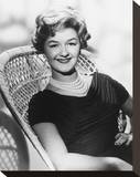 Joan Sims Stretched Canvas Print