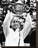 Martina Navratilova Stretched Canvas Print