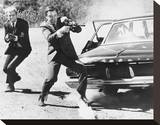 The Man from U.N.C.L.E. Stretched Canvas Print