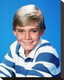 Rick Schroder - Silver Spoons Stretched Canvas Print