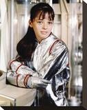 Angela Cartwright - Lost in Space Stretched Canvas Print
