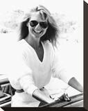 Christie Brinkley Stretched Canvas Print