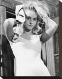 Diane McBain Stretched Canvas Print